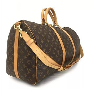 Extra Pix: LV Bandouliere Keepall Boston Bag